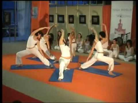 Yoga Arts Dance at the 1st yoga Festival in Greece HELEXPO